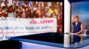 Une marche contre le droit à l'avortement rassemble 1500 personnes à Bruxelles