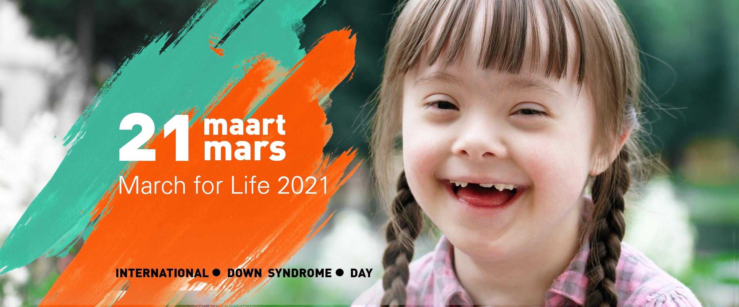 21 mars 2021, c'est le jour qu'on célébrera la vie de chaque personne, mais surtout la vie des personnes en situation d'handicap !